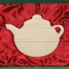 Demdaco Christmas Ornament Teapot FREE Shipping