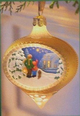 Hallmark Illuminations Watching For Santa 2005 Ornament Free Shipping