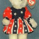 TY Beanie Baby Franny Attic Treasures Bear 1993 Retired Free Shipping