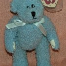 TY Beanie Baby Attic Treasures Bluebeary 1993 Retired Free Shipping