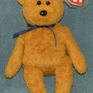 TY Beanie Baby Fuzz the Bear 1999 Retired Free Shipping