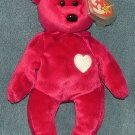 TY Beanie Baby Valentina Bear 1999 Retired Free Shipping