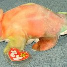 TY Beanie Baby Rainbow the Chameleon 1997 Retired Free Shipping