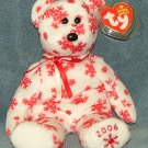 TY Beanie Baby Snowbelles White Bear (Rare) 2006 Retired Free Shipping