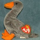 TY Beanie Baby Honks the Goose 1999 Retired Free Shipping