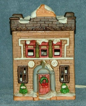 Trim Trend Lighted Victorian Christmas Building Free Shipping