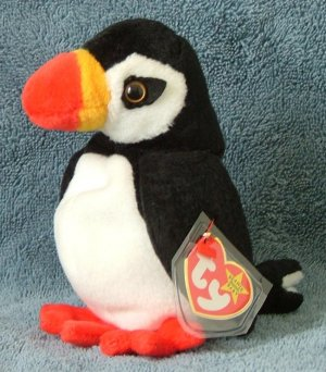 TY Beanie Baby Puffer the Toucan 1997 Retired Free Shipping 5357f42ab5c3