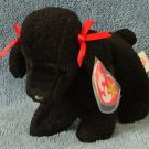 TY Beanie Baby GiGi the Poodle 1997 Retired Free Shipping