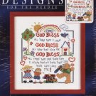 Rainbow brand title God Bless cross-stitch kit