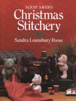 Scrap Savers Christmas Stitchery Book 1993