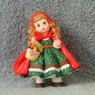 Hallmark Little Red Riding Hood Ornament 1991