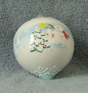 Hallmark Adding the Final Touch Snowball Tuxedo Ornament 2008