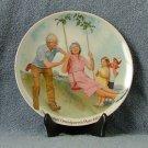 Knowles Csatari Grandparent Plate 1983 The Swinger