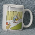 Far Side Vintage 2002 dog and mail man coffee cup