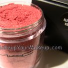 Electric Coral MAC Pigment Sample