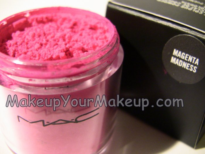 Magenta Madness MAC Pigment Sample