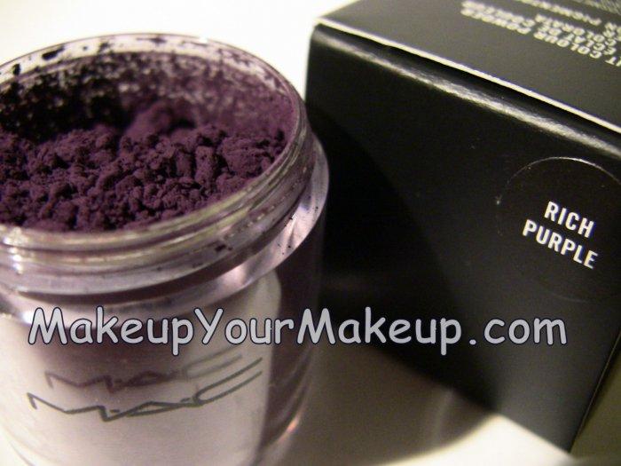 Rich Purple MAC Pigment Sample