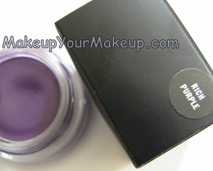 Rich Purple MAC Chromaline Sample