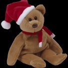 1997 Holiday Teddy Bear,  Ty Beanie Baby - Retired