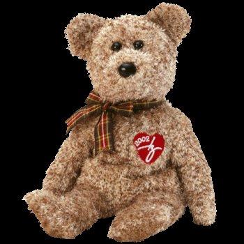 2002 Signature bear,  Ty Beanie Baby - Retired