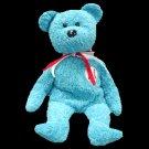 Addison the baseball bear,  Beanie Baby - Retired