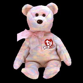 Celebrate the bear,  Beanie Baby - Retired