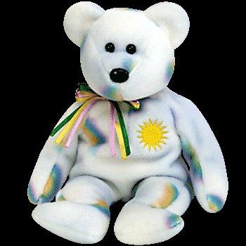 Cheery the sunshine bear,  Beanie Baby - Retired