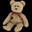 Curly the bear,  Beanie Baby - Retired