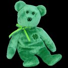 Dublin the bear,  Beanie Baby - Retired