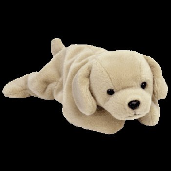 Fetch the golden retriever,  Beanie Baby - Retired
