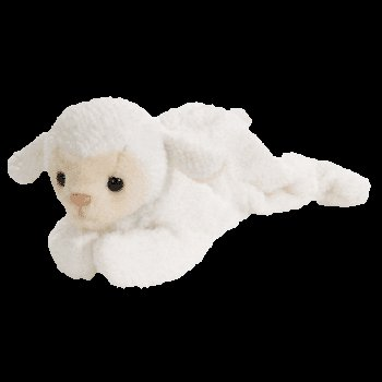 Fleece the lamb,  Beanie Baby - Retired