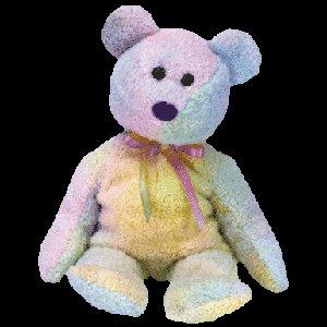 Groovy the bear,  Beanie Baby - Retired