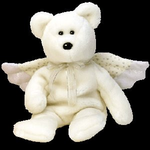 Herald the Angel Bear,  Beanie Baby - Retired