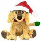 Jinglepup the dog (white trim,green tail (Singapore Exclusive), Beanie Baby - Retired