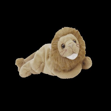 Roary the lion,  Beanie Baby - Retired