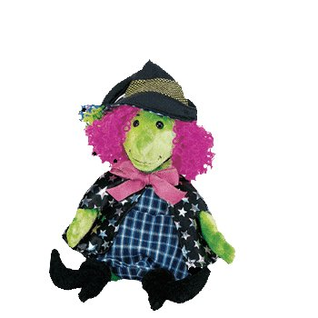 Scary the witch,  Beanie Baby - Retired