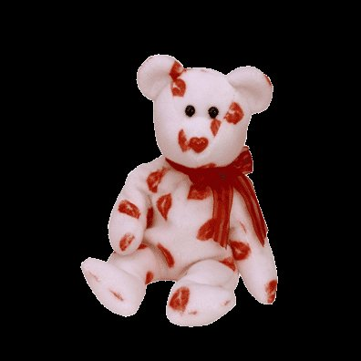 Smooch the bear,  Beanie Baby - Retired