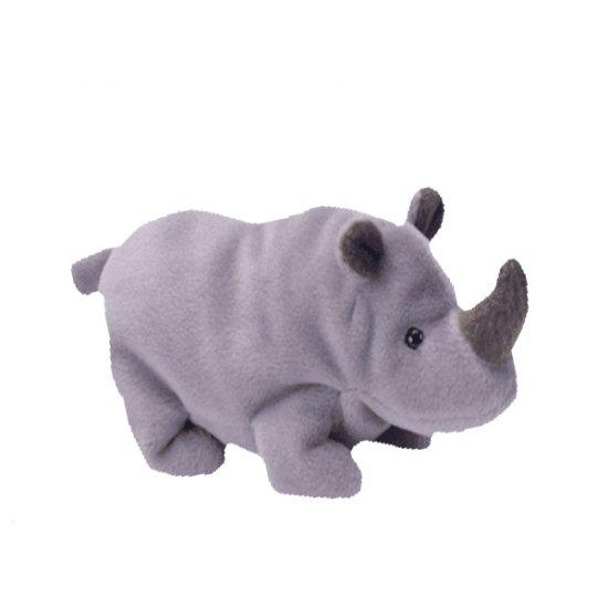 Spike the Rhinoceros,  Beanie Baby - Retired