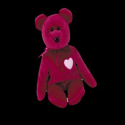 Valentina the bear,  Beanie Baby - Retired
