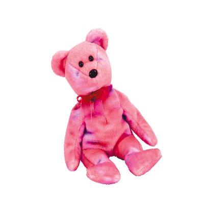 Clubby V the bear,  Beanie Buddy - Retired