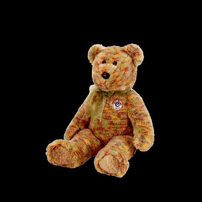 Speckles the bear,  Beanie Buddy - Retired