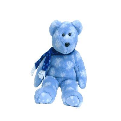 1999 Holiday Teddy, Beanie Buddy - Retired