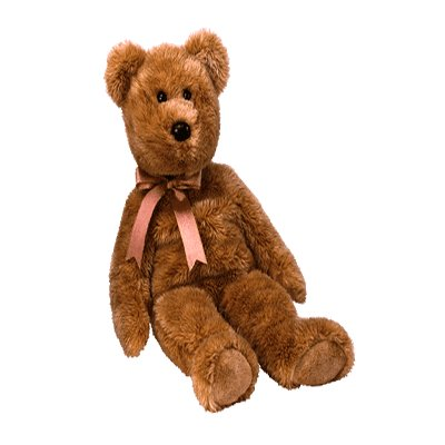 Cashew the bear,  Beanie Buddy - Retired