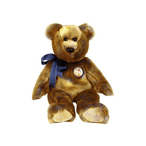 Clubby III the bear,  Beanie Buddy - Retired
