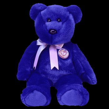 Clubby the bear, Beanie Buddy - Retired