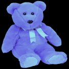 Clubby II the bear,  Ty Beanie Buddy - Retired