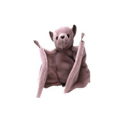 Batty the brown bat,  Beanie Baby - Retired