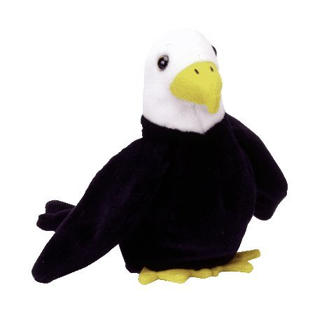 Baldy the eagle,  Beanie Baby - Retired
