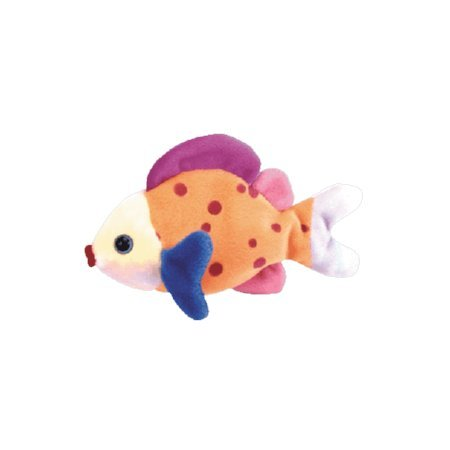 Lips the ty-dye fish,  Beanie Baby - Retired