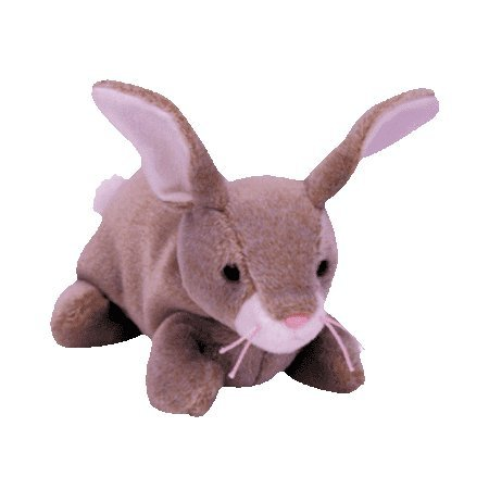 Nibbly the rabbit,  Beanie Baby - Retired